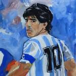 Maradona, 2010 (Privatbesitz)