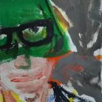 Selbst mit grüner Blende, 2013 (Privatbesitz)